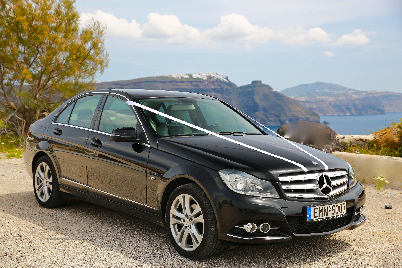 Wedding Cars Santorini Mercedes C Class For Wedding Car Luxury - Cool cars santorini