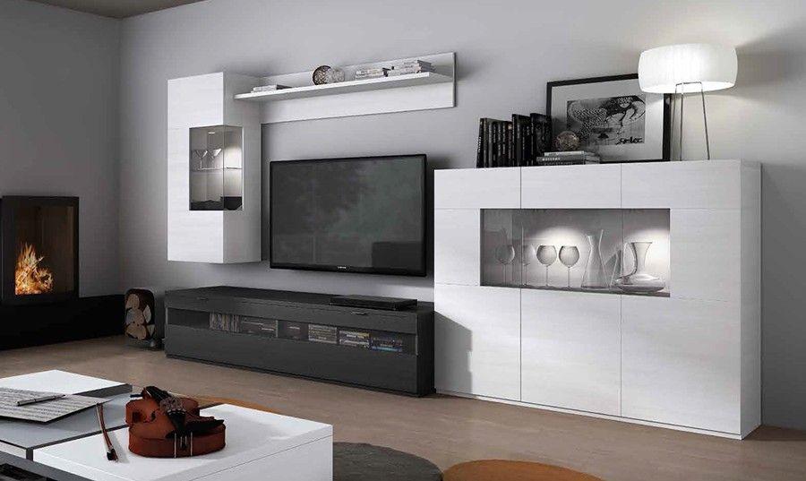 Resultado de imagen de salones modulares modernos madrid for Muebles modulares salon modernos