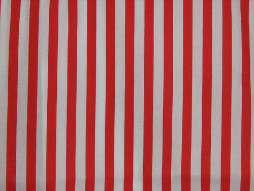 Red and white 7mm stripes Vertical ( RWS)