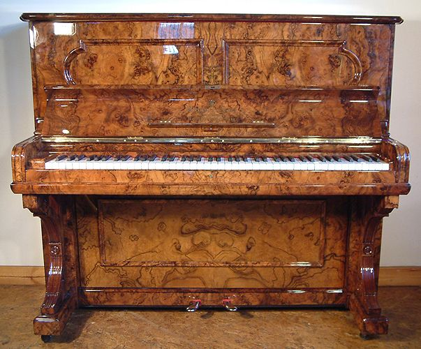 An 1887 Fully Restored Steinway Upright Piano With An