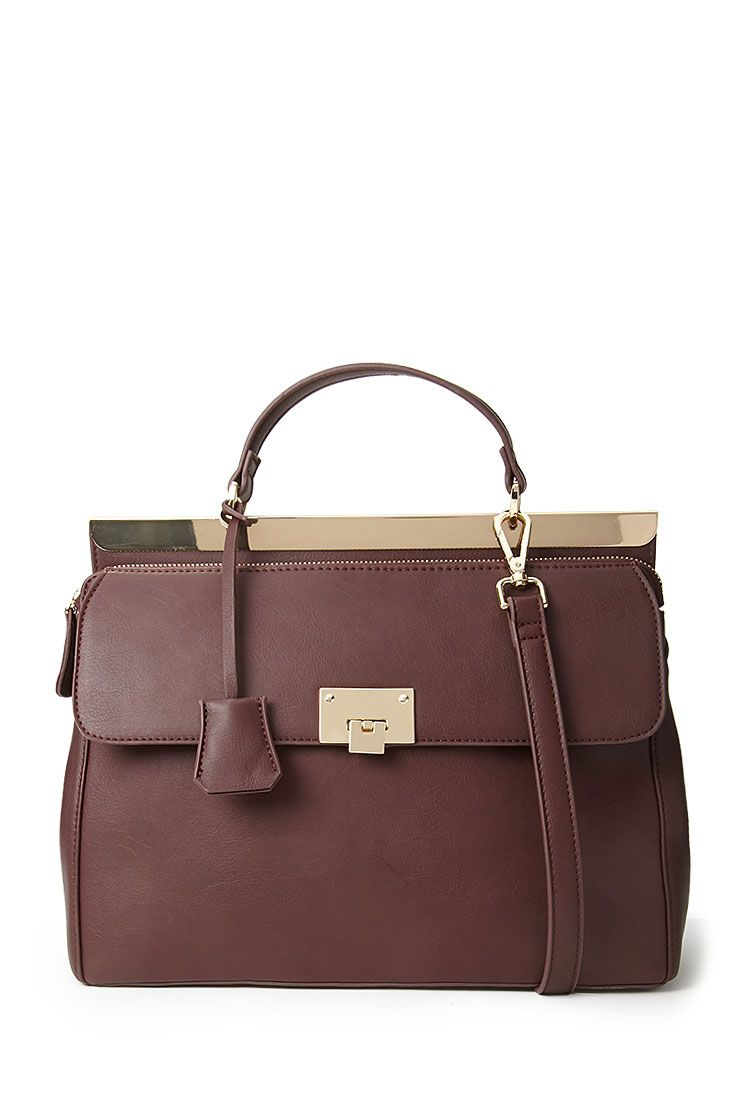 29.90 - Forever 21 US Convertible Faux Leather Satchel | Bags ...