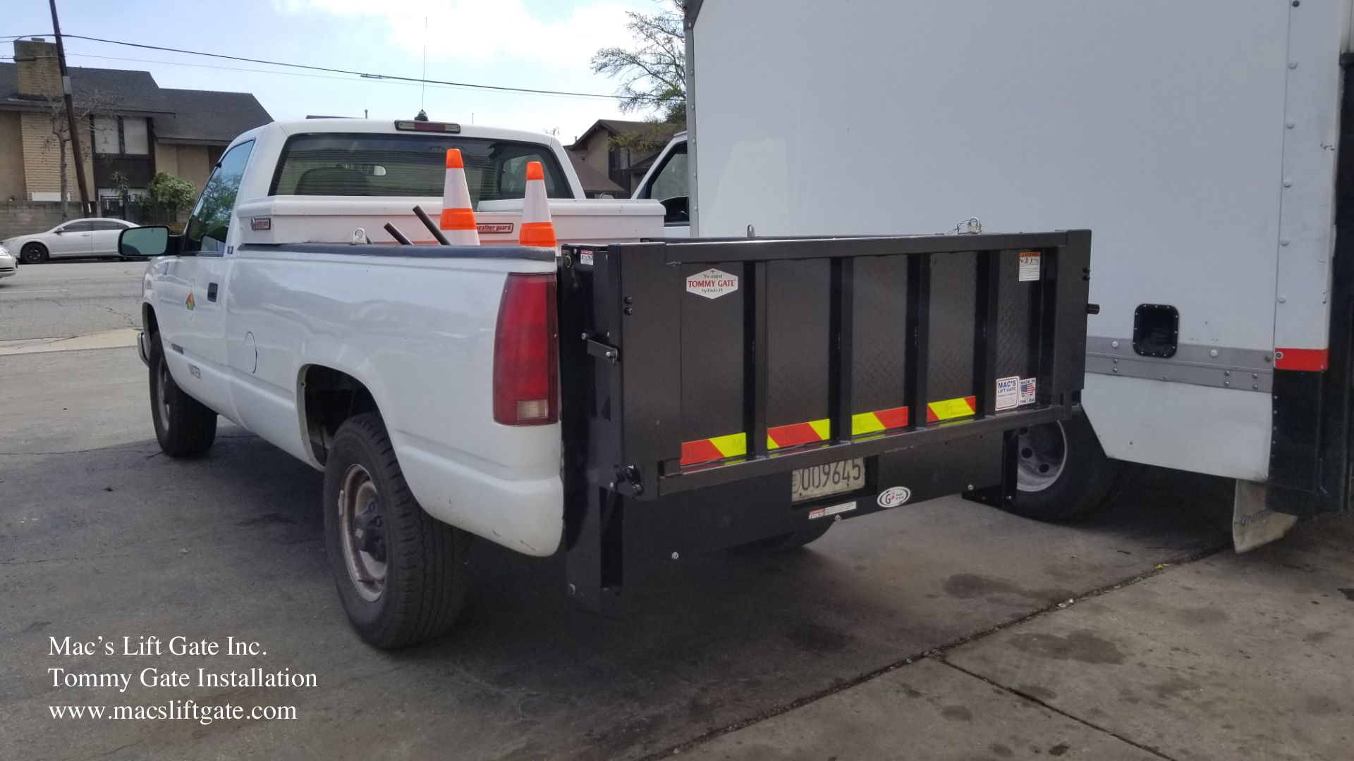 Tommy Gate Install By Mac S Lift Gate On Chevy Truck Chevy Trucks Installation Trucks