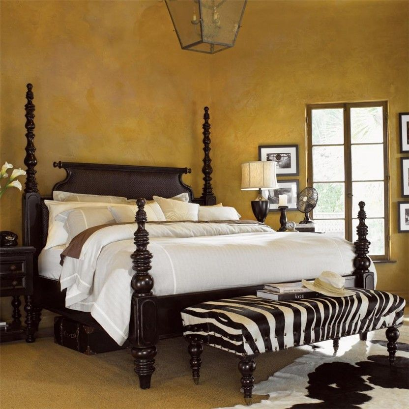 Tommy Bahama Kingstown Sovereign Queen Bed (Low Post)