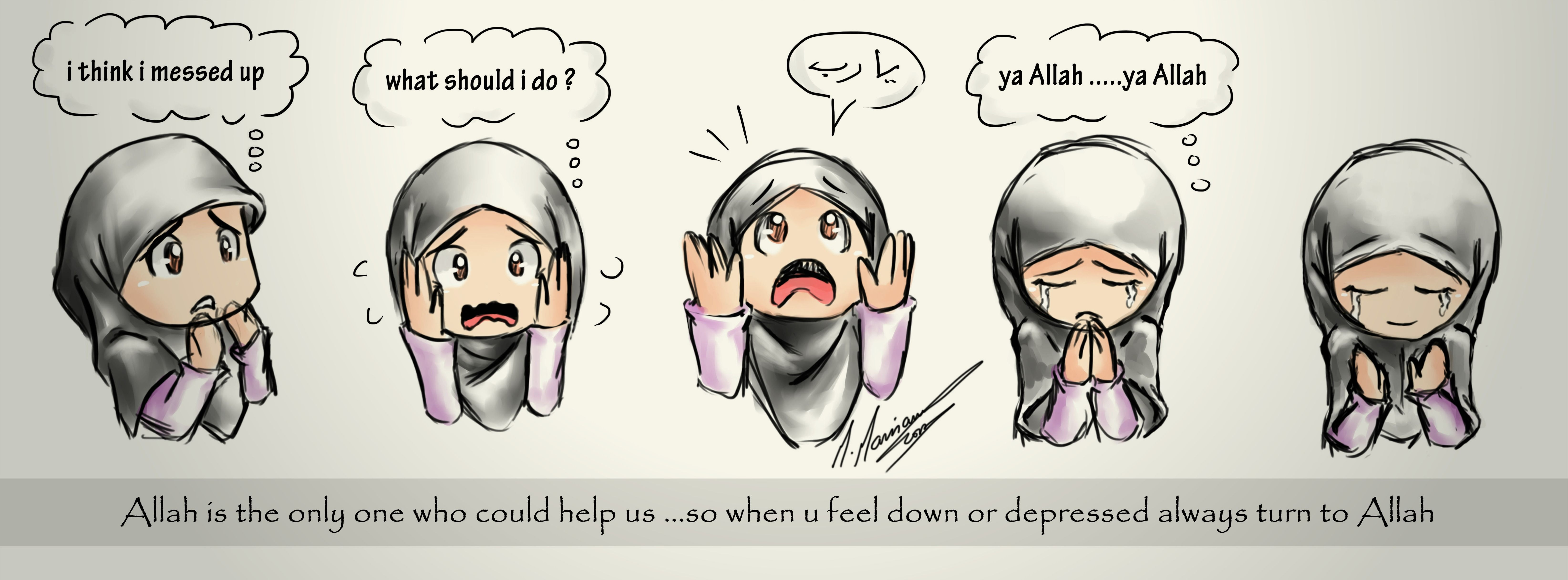 Always Turn To Allah !!