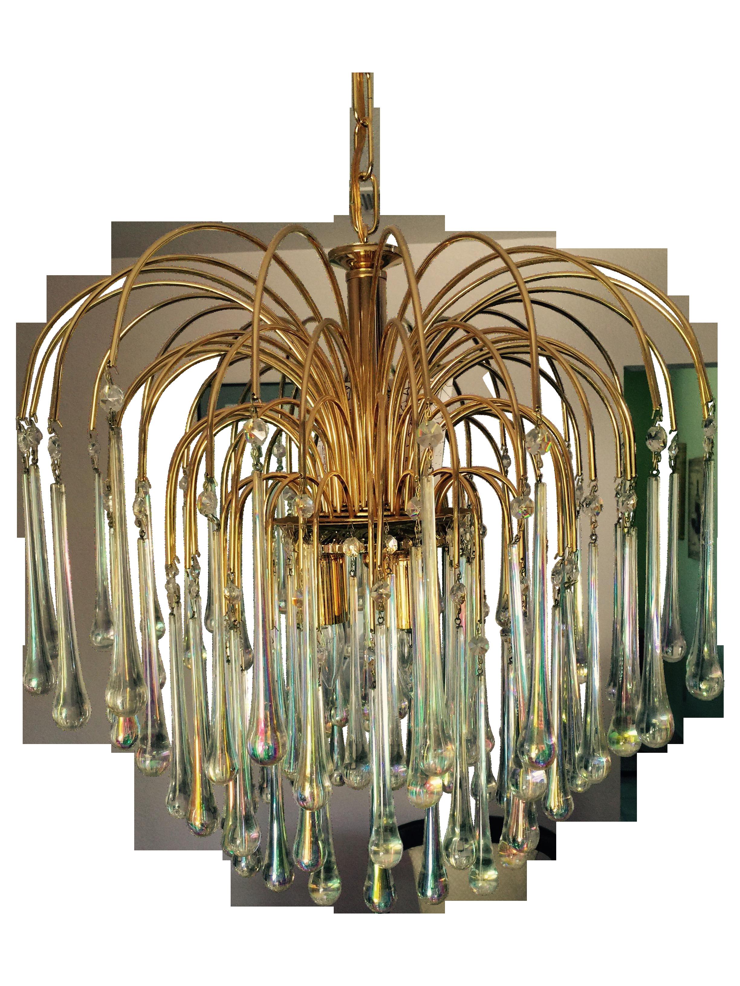 Murano italy vecchio glass chandelier on chairish chandeliers chandeliers arubaitofo Choice Image