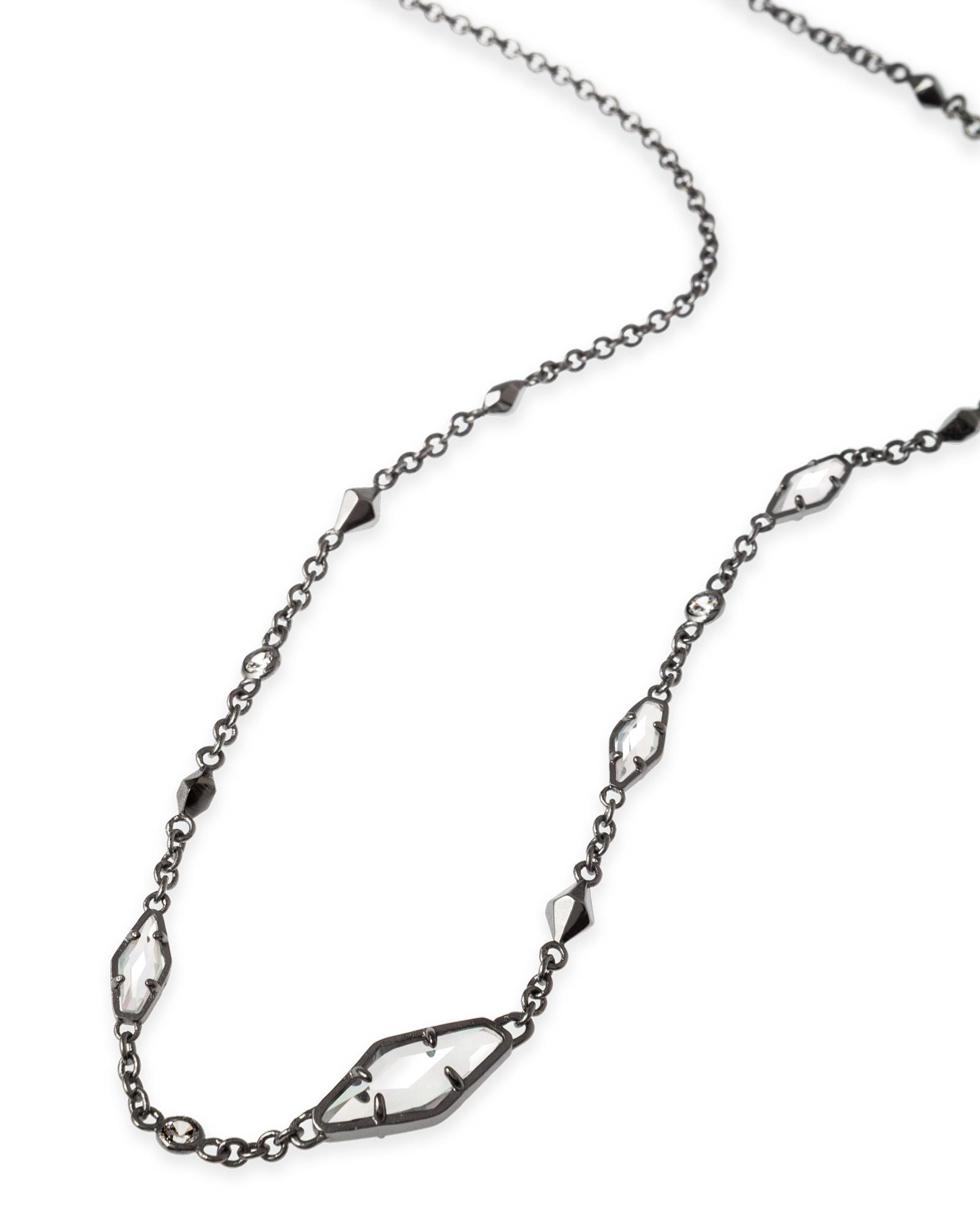 b7dfef61839421 Debra Necklace in Hematite - Kendra Scott Jewelry. | WishList ...