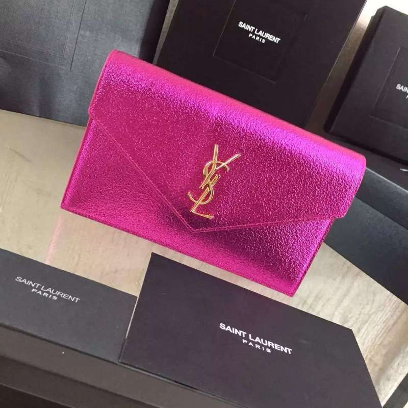 2016 Cheap YSL Out Sale with Free Shipping-Saint Laurent Monogram Envelope  Chain Wallet in 47059ee0b7