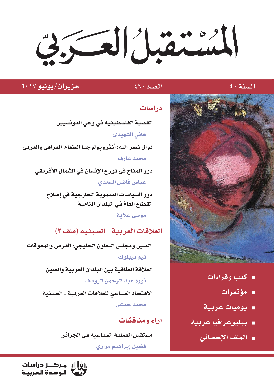 مجلة المستقبل العربي جوان 2017 Poster Movie Posters Art