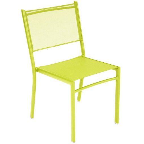 Costa By Fermob Chaise Verveine Outdoor Dining Chairs Fermob Side Chairs Dining