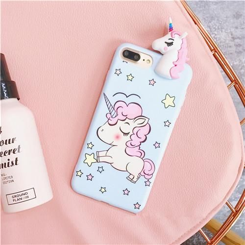 Cute Unicorn Case Cover for Iphone 6 6s