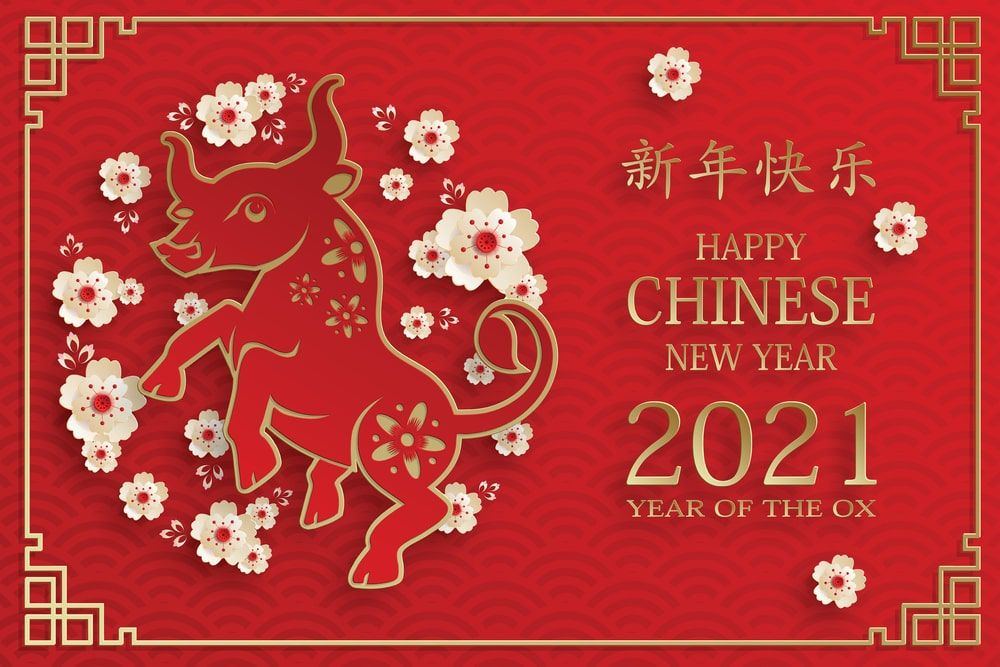 Happy Chinese New Year 2021 Images | Chinese new year card ...