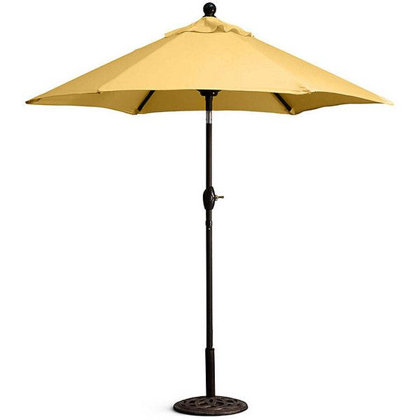 Improvements 7-1/2u0027 Outdoor Sunbrella Umbrella Replacement Canopy -... ($170) ? liked on Polyvore featuring home outdoors patio umbrellas ...  sc 1 st  Pinterest & Improvements 7-1/2u0027 Outdoor Sunbrella Umbrella Replacement Canopy ...