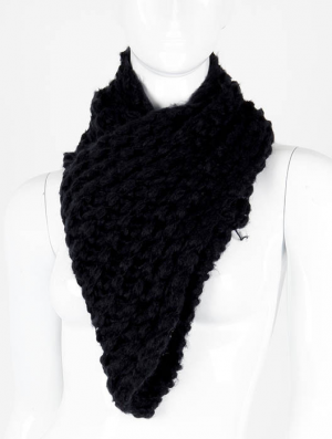 BIB. SCARF / BIB / INFINITY / KNITTED / 56 INCH LONG X 10 INCH WIDE / 100% ACRYLIC / ONE SIZE / NICKEL AND LEAD COMPLIANT