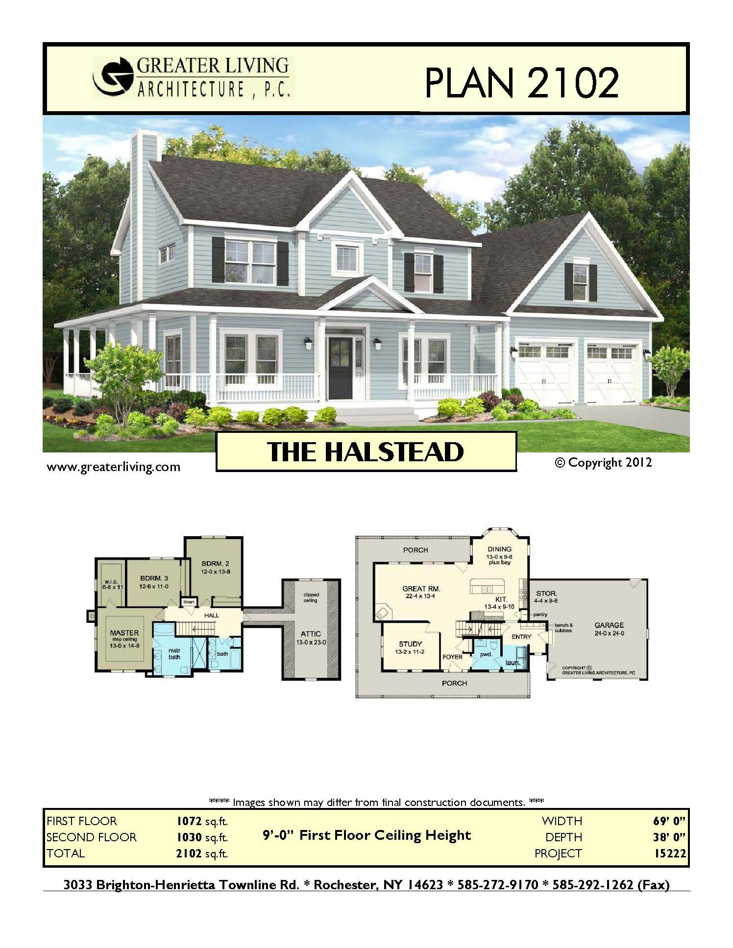 Plan 2102 The Halstead House Plans Two Story House Plans 2 Story Greater Living Architecture House Layouts House Blueprints Two Story House Plans