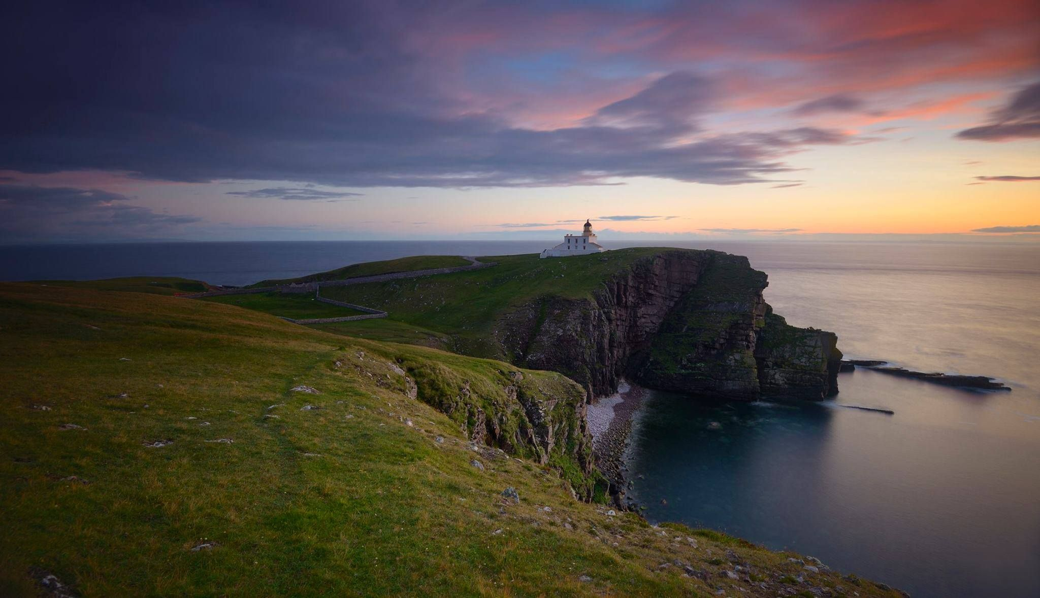 There are around 200 lighthouses dotted around Scotland's