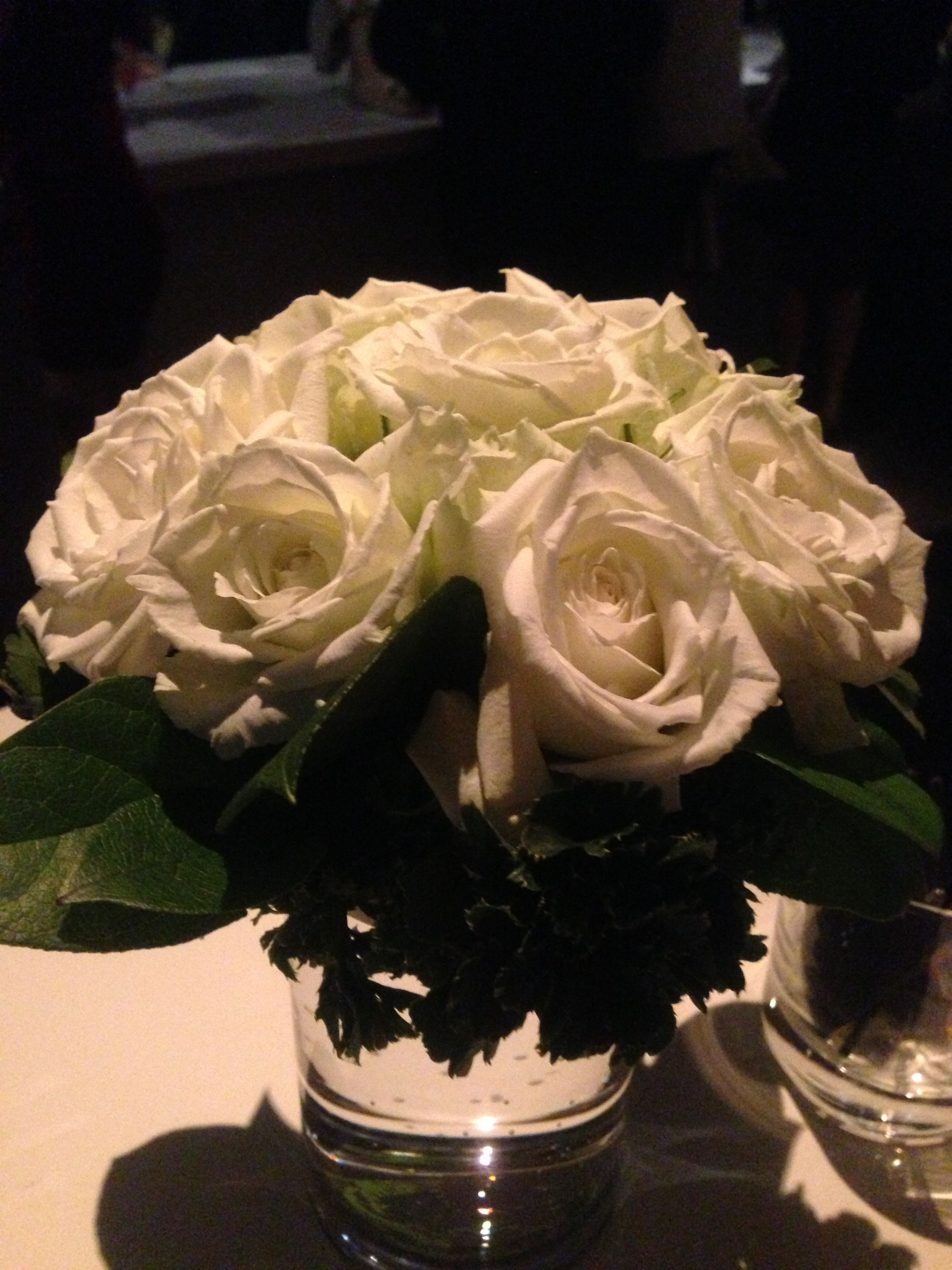 White Roses. Pure.