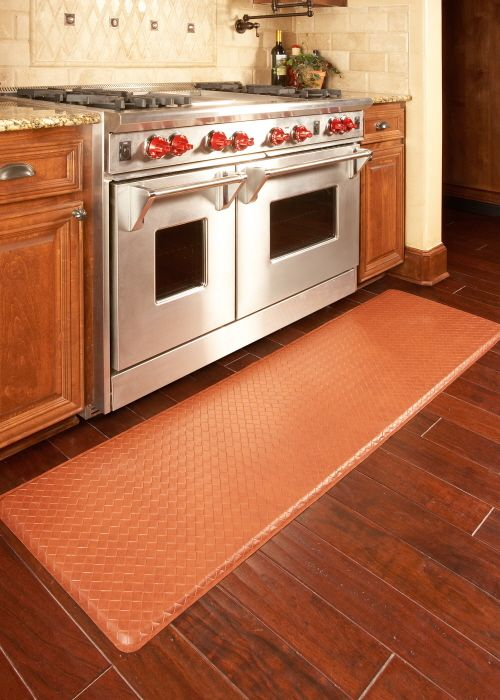 Gel Filled Kitchen Floor Mats Relieve Back And Feet Discomfort Kitchen Flooring Kitchen Mats Floor Kitchen Design