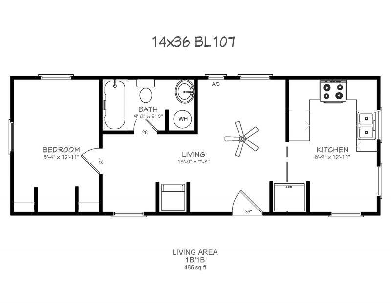 14x32 house plans - Google Search | Tiny Houses | Pinterest | House ...