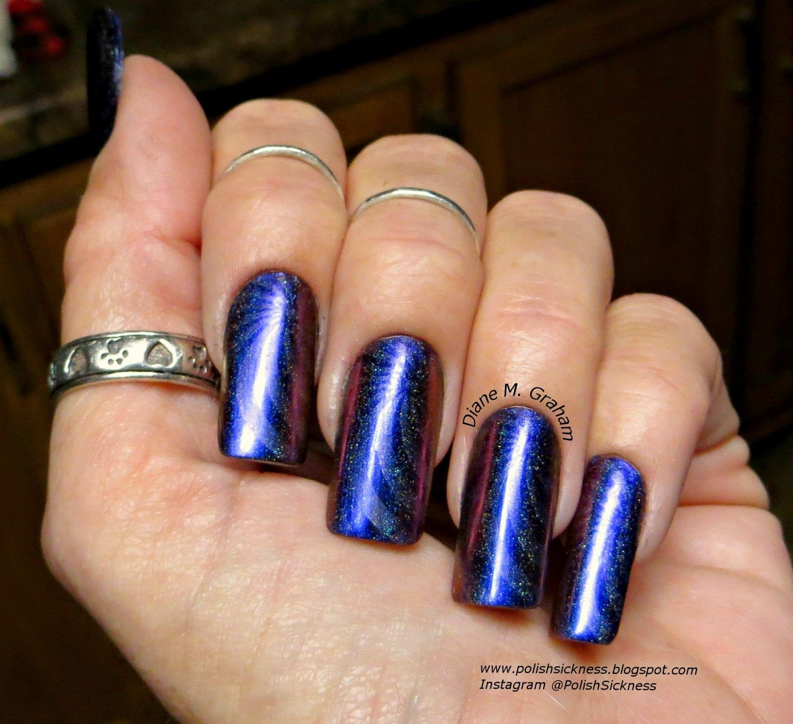 ILNP Cygnus Loop Holo, OPI DS Sapphire, Ali Express 12-51 holo stamp ...