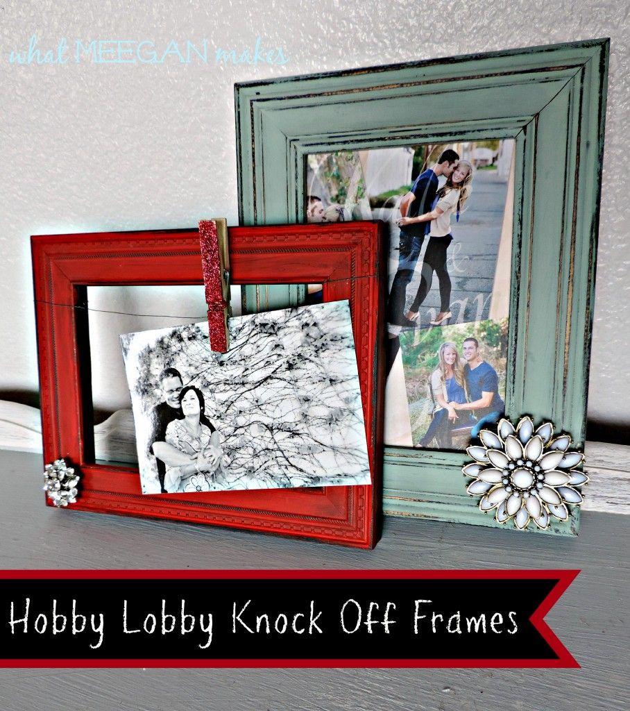 DIY Embellished Frames | Lobbies, Craft and Diy frame