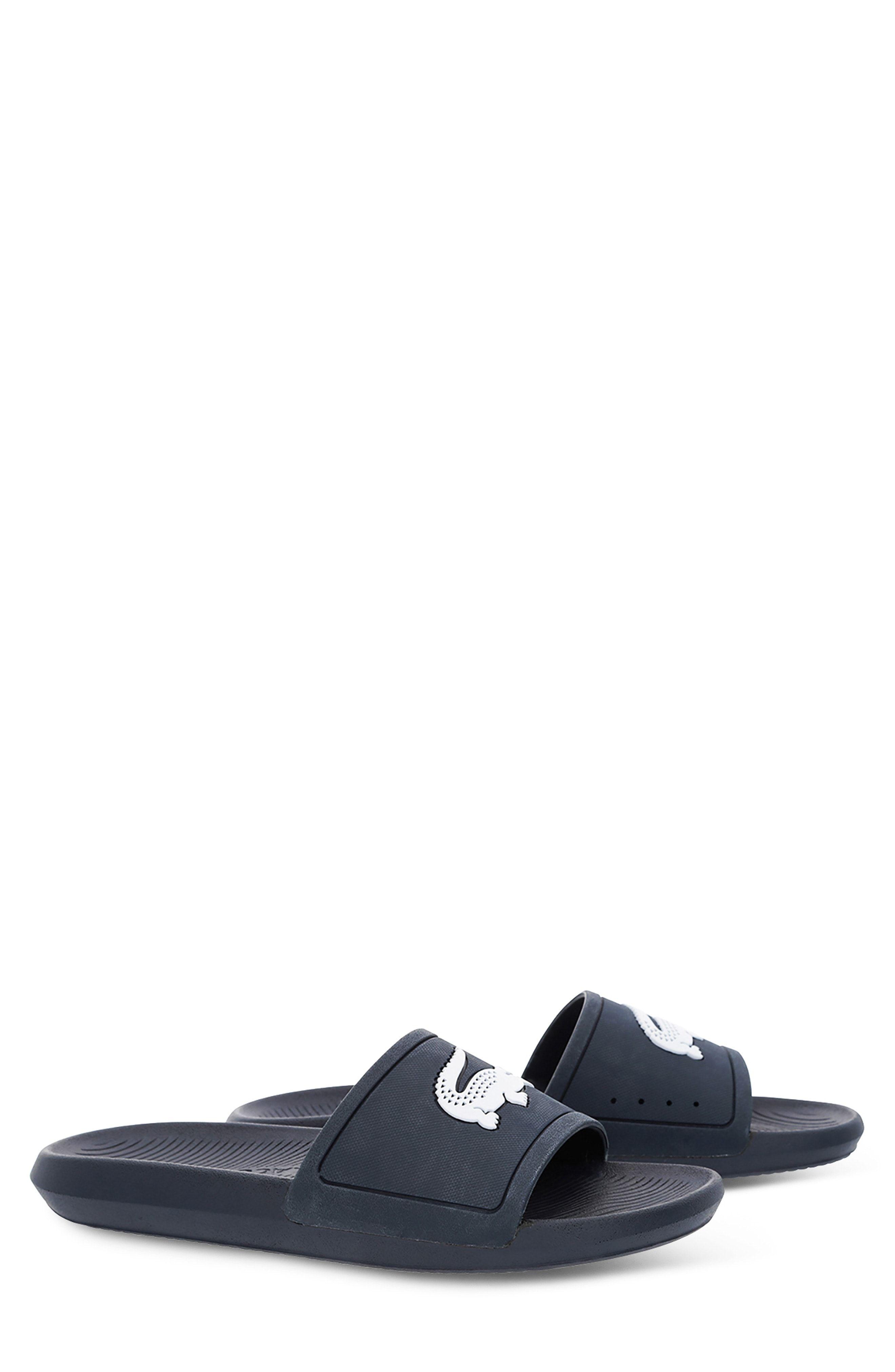 c0a0905c0338 LACOSTE CROCO SLIDE SANDAL.  lacoste  shoes
