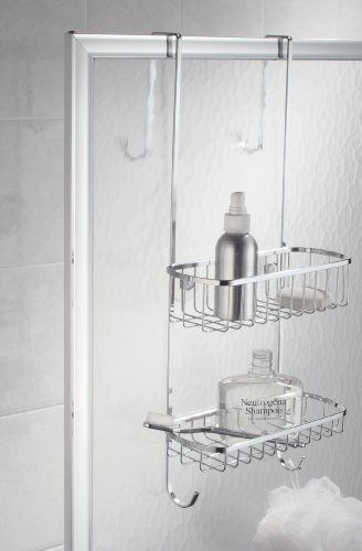 Interdesign Stainless Steel Over The Door Shower Caddy List