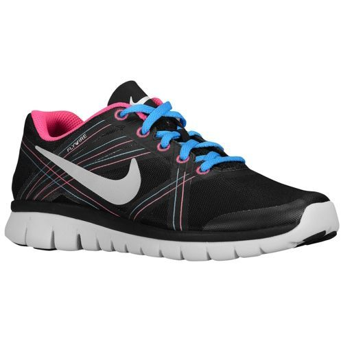 7f328c86fec53 Nike Flex Speed - Women s - Running - Shoes - Black Metallic Platinum Summit  White Blue Hero
