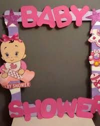 Cuadros De Unicel Para Fotos De Baby Shower
