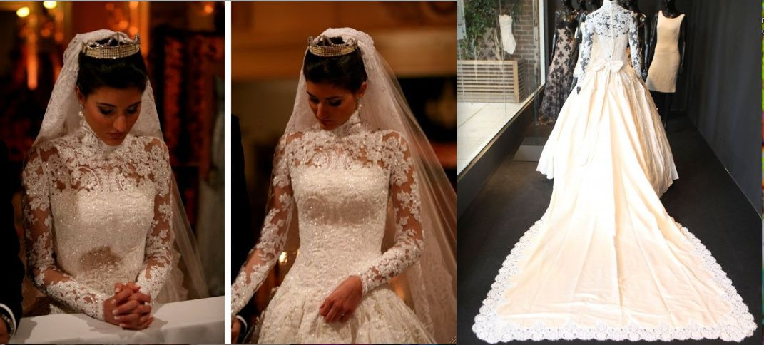Maria Rudge Piva de Albuquerque   Lace wedding dress   Wedding dress ...