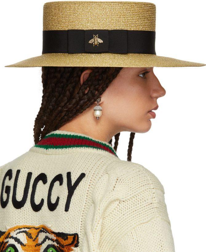 Or Alba Gucci Chapeau n4vFG