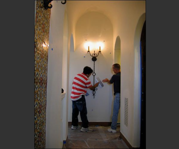 jeff doubet on the job arizona spanish colonial house pinterest