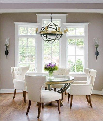 Comedores Elegantes en Color Blanco extras Pinterest Comedor - comedores elegantes