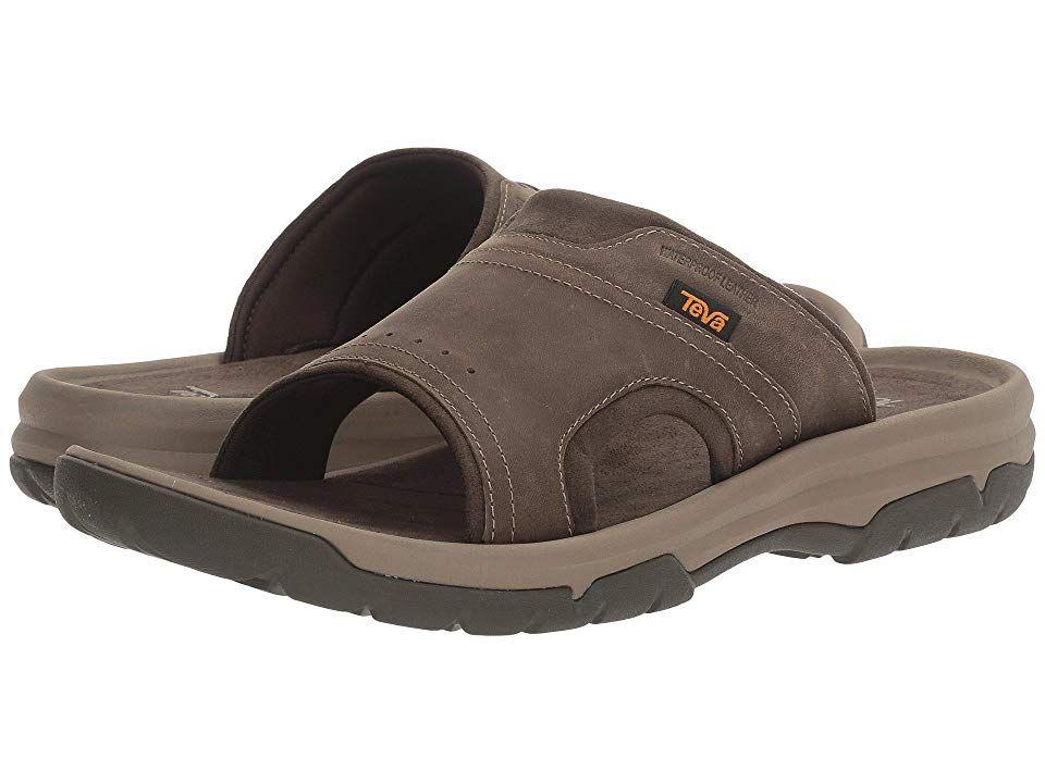 Teva Langdon Slide Men's Sandals Walnut