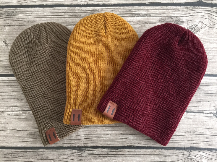 Beau Hudson Bandit Beanies - All Bandit Beanies have been comfort tested for even the fussiest hat wearer... and pass! The slouch back design makes this cool beanie a must for every stylers