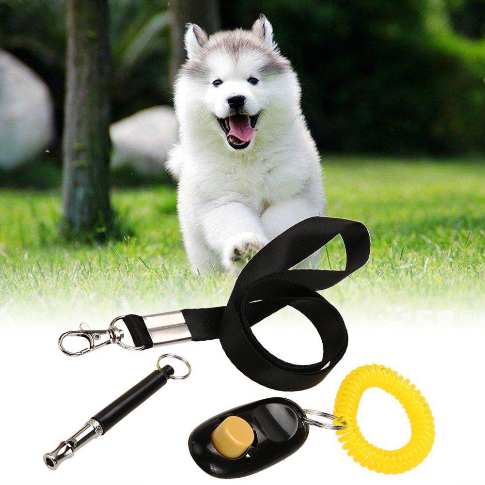 3 in 1 Ultrasonic Dog Whistle Training Collar Whistle+Pet