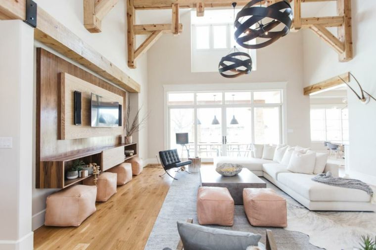 Interiores de salas de estar de estilo escandinavo ideas for Diseno escandinavo interiores
