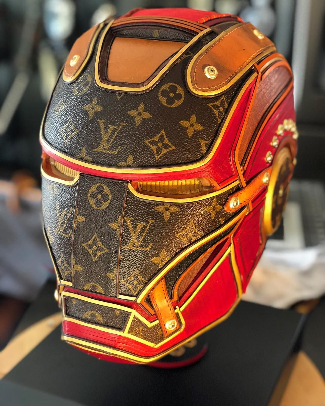 Its A Wrap I Have Finished Iron Man Lv This One Was Fun And June 2012 Electronic Components Microchips Wood Frame 120x120 Cm Really Happy On How Turned Out Louisvuitton Louisvuittonbag