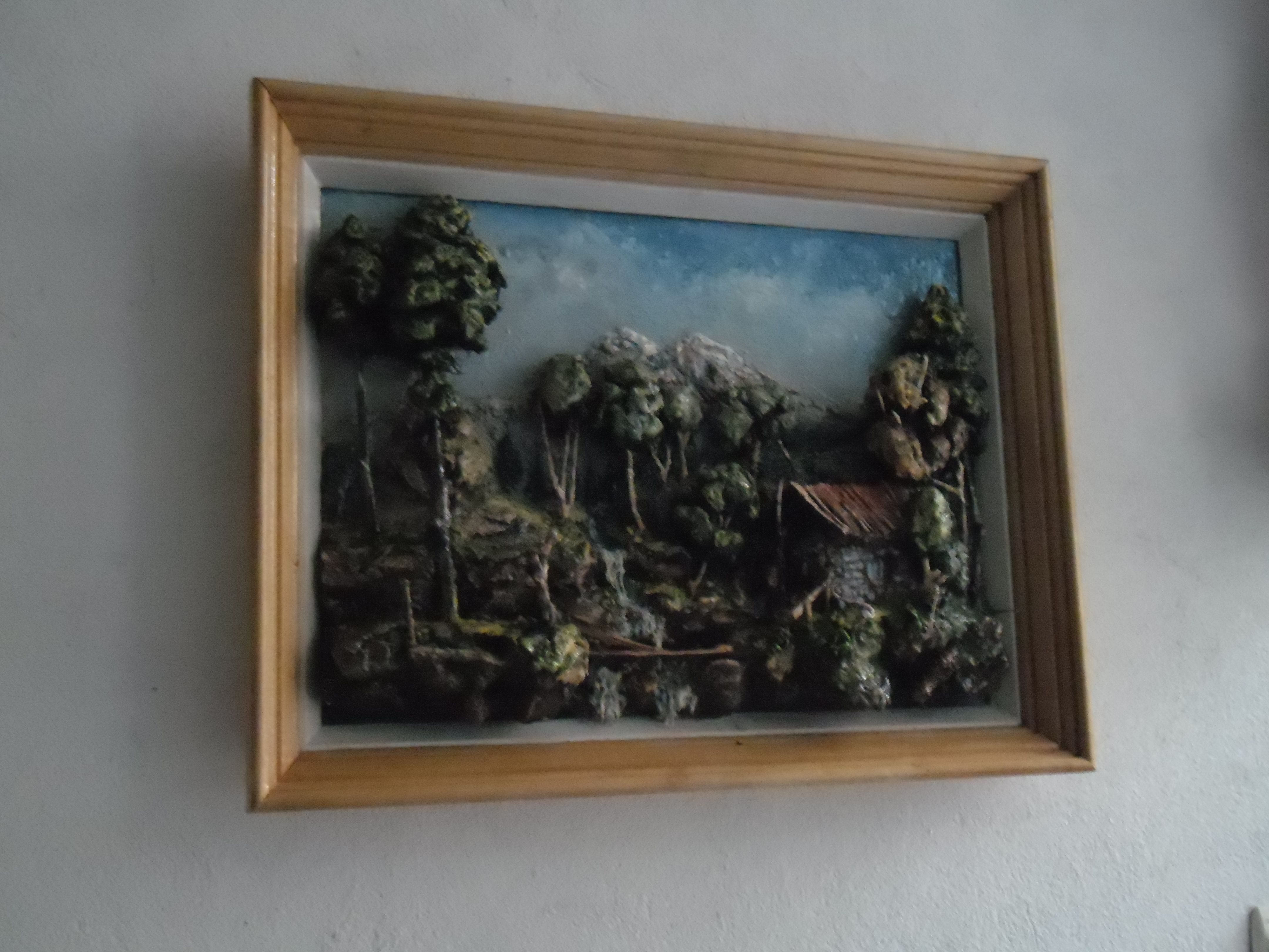 First Time Hanged On A Wall Oil Painting On Canvas Painting Cool Artwork