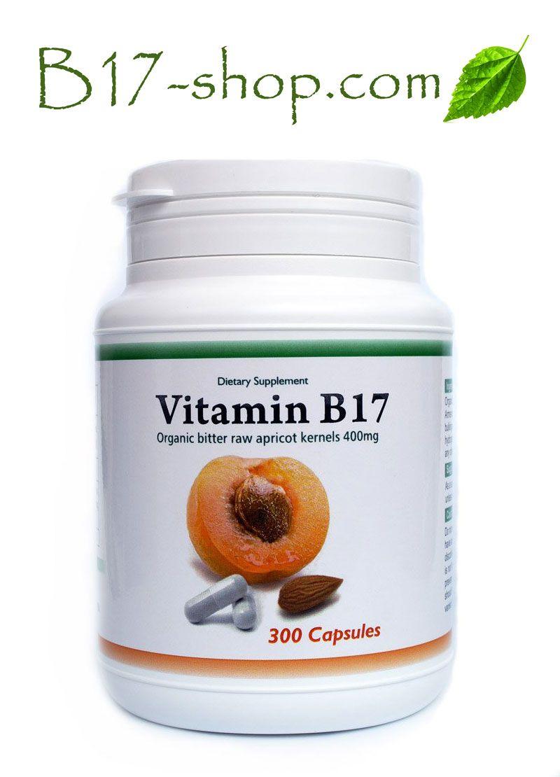 Organic vitamin b17 300caps 400mg raw bitter apricot