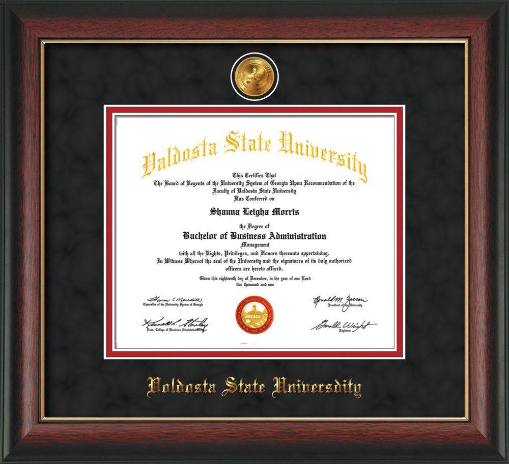 U. Louisville Diploma Frame-Rose Gold L- w/UofL Pharmacy-Black on ...