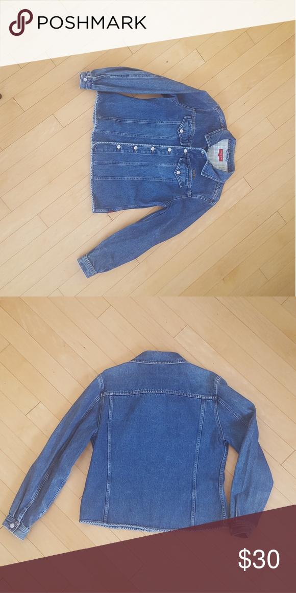Jackpot worn denimjacket designed by Carli Gry