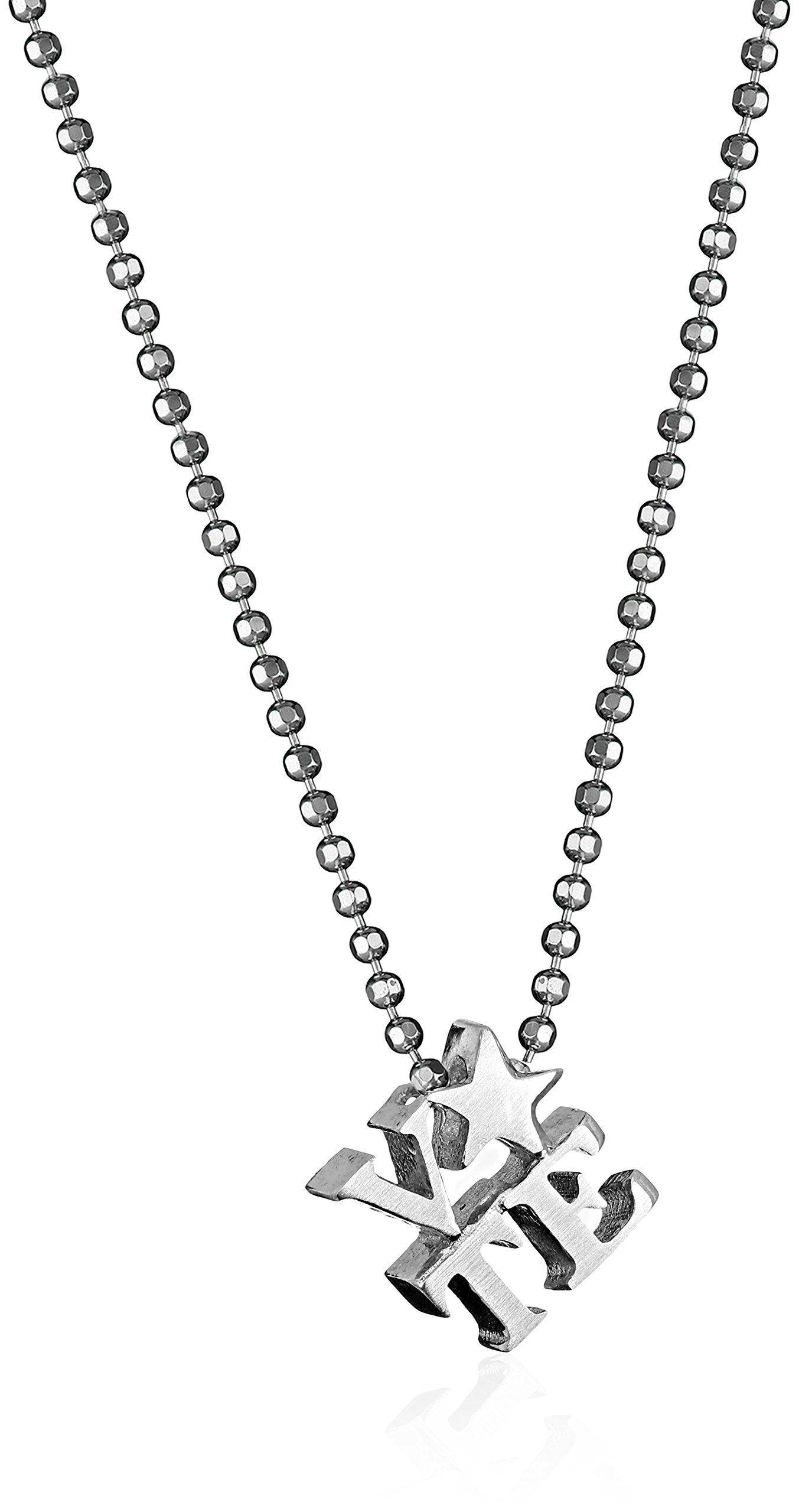 """Alex Woo Sterling Silver Little Activist Vote Pendant Necklace, 16"""". 16"""". Made in United States. Sterling Silver Activist VOTE necklace featuring star. Solid matte-finished and eco-friendly. Made in New York City and Stamped for authencity. Made in USA."""