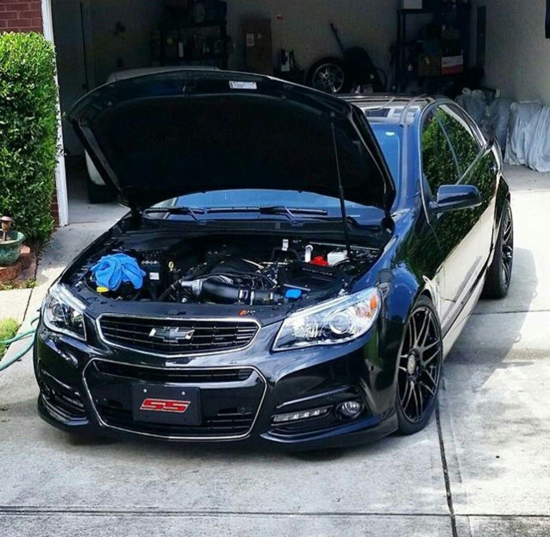 hight resolution of blacked out chevy ss