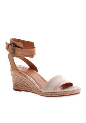 566923801 MADELINE Skate Wedge Sandal   Products   Wedges, Wedge sandals ...