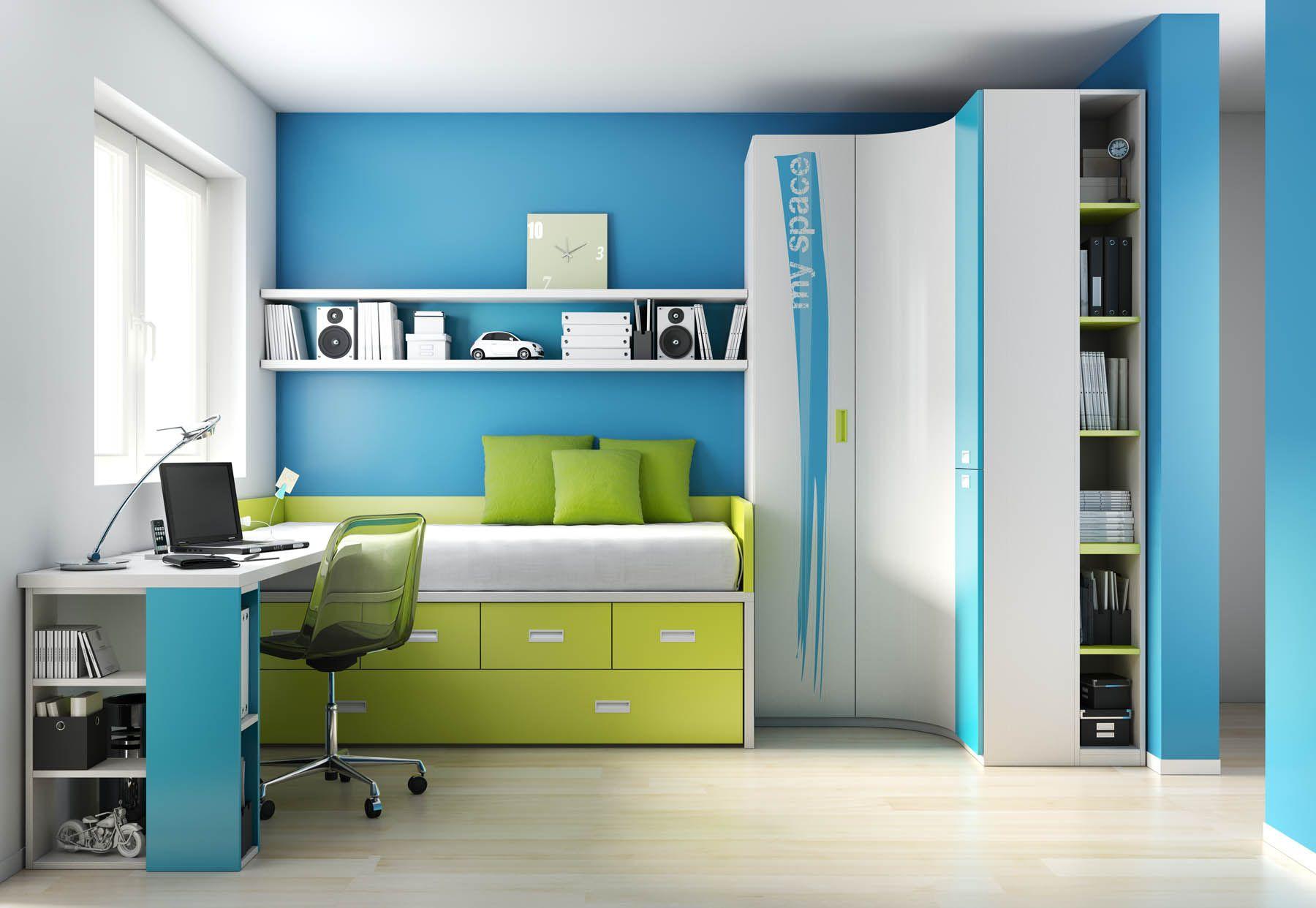 Habitación juvenil del catálogo de mueble juvenil \