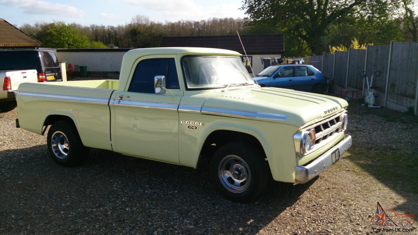 1968 Dodge Truck | dodge d100 1968 shortbed pickup 340 ...