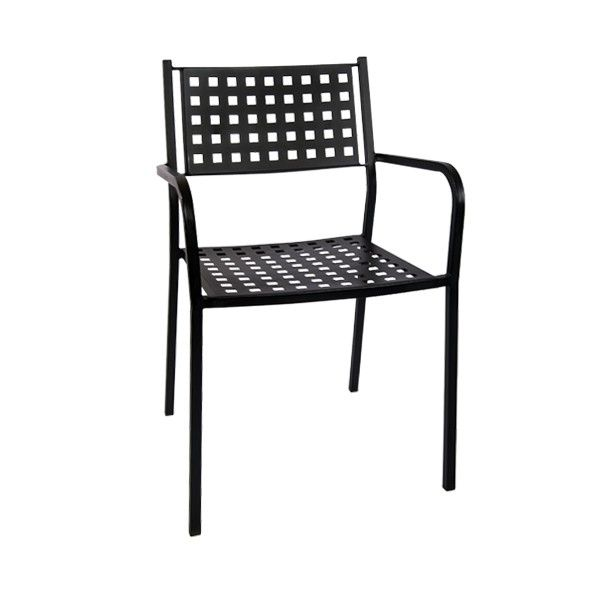 Black Metal Patio Chairs