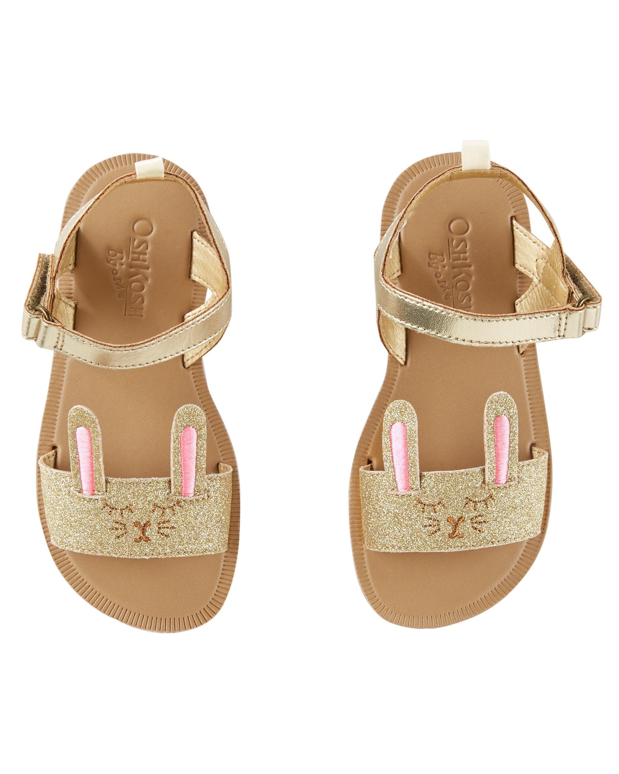 5f312cf52b0b OshKosh Bunny Sandals
