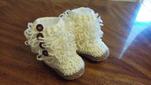 Me encanta mis trabajos a crochet