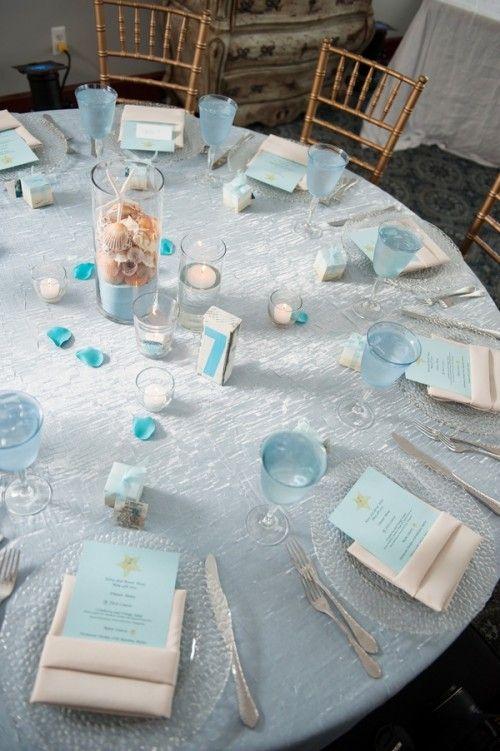 35 Romantic Beach Wedding Table Settings | Weddingomania & 35 Romantic Beach Wedding Table Settings | Weddingomania | Weddings ...